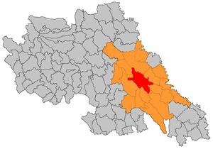 Iași metropolitan area - Image: Iasi Metropolitan Area jud Iasi