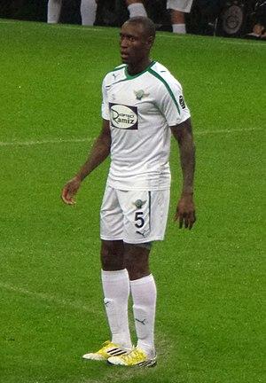 Ibrahima Sonko - Sonko playing for Akhisar Belediyespor in 2014