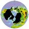 Maksimuma Kvarnombra nord-hemisfera glaciejiĝo