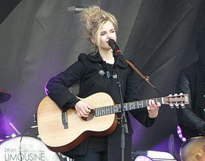 Ida (singer) - Image: Ida Ostergaard Madsen X Factor Concert in Legoland 2012
