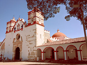 Teotitlán del Valle - Preciosa Sangre de Cristo Church