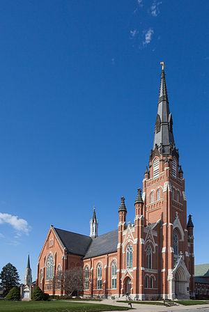 Saint Paul's Evangelical Lutheran Church (Fort Wayne, Indiana) - Saint Paul's in 2012
