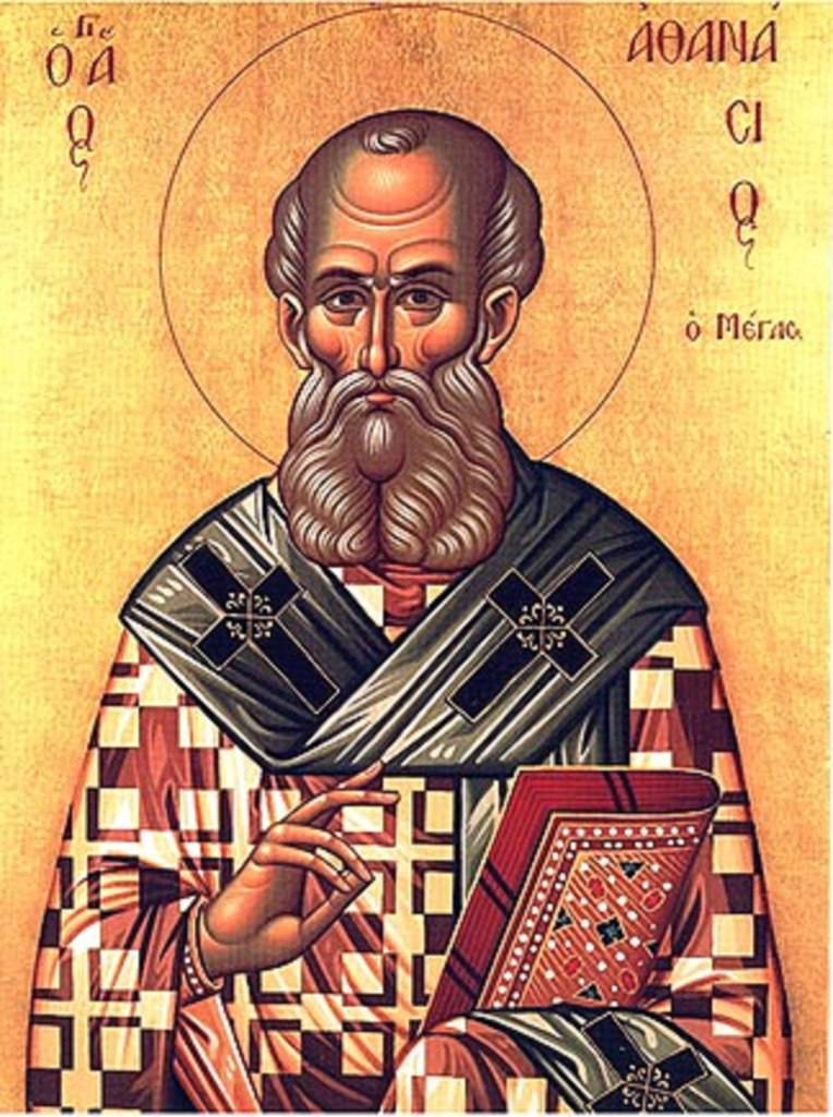 Ikone Athanasius von Alexandria
