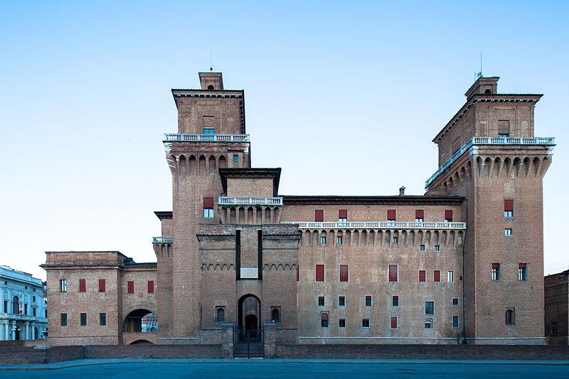 File:Il Castello Estense di Ferrara.jpg