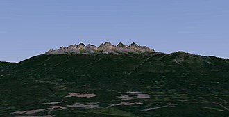 Ilgachuz Range - Southern flank of the Ilgachuz Range