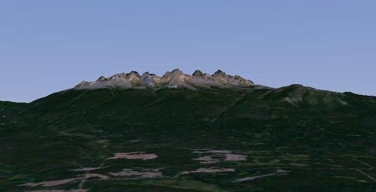 Ilgachuz Range southern