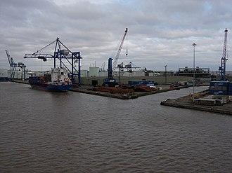 Port of Immingham - Image: Immingham Docks geograph.org.uk 1009157