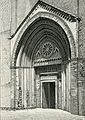 Imola porta della chiesa di San Domenico xilografia.jpg
