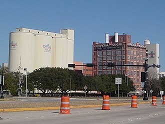 Sugar Land, Texas - Former Imperial Sugar factory