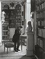 In der großherzoglichen Bibliothek, um 1904–1905.jpg