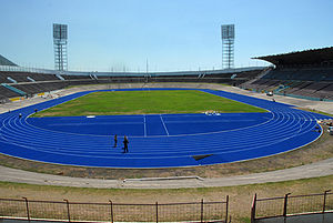 Jamaica National Stadion in Kingston