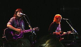 Indigo Girls - Indigo Girls at Park West in Chicago, September 18, 2005. (left to right: Amy Ray and Emily Saliers)