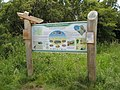 Information board, Braunton Burrows - geograph.org.uk - 1399438.jpg
