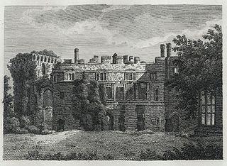 Inside View of Raglan Castle