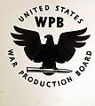 Insignia for U.S. War Production Board, WPB, WWII (35487656255).jpg
