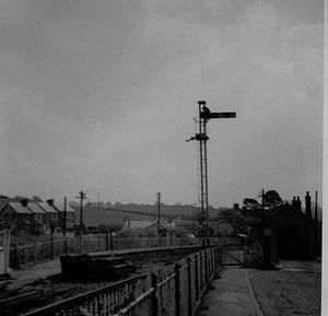 Instow - Instow railway station in 1969.