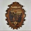 """Interieur, blazoen in kamer sociëteit """"Trouw moet blijken"""" (kleur) - Haarlem - 20097352 - RCE.jpg"""