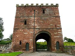 Interior of Wetheral Priory Gatehouse.jpg