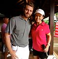 International celebrity Brian McFadden with Jen Su at Gary Player Invitational.jpg