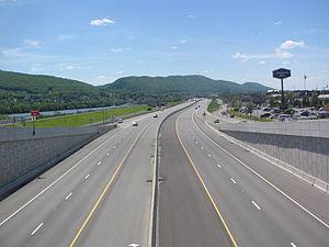 Interstate 180 (Pennsylvania) - Image: Interstate 180 Pennsylvania