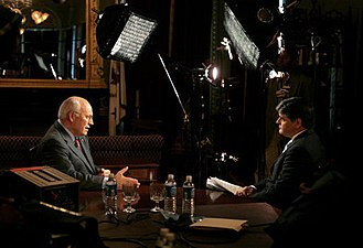 Sean Hannity - Hannity in a radio and television interview with Vice President Dick Cheney