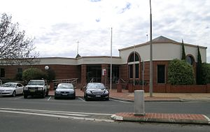 Inverell Shire - Inverell Shire Council chambers