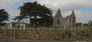 Kilbarrack - Old Kilbarrack Church (Mariners Church, Chapel of Mone) and graveyard, beside the original Kilbarrack village, now Bayside