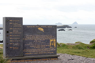 Valentia Island - Image: Ireland Valentia Island telegraph