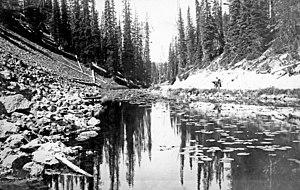 Isa Lake - Image: Isa Lake 1921