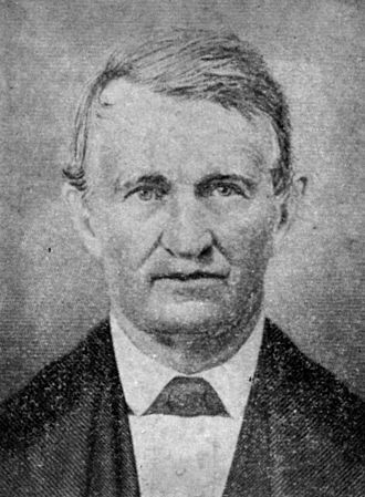 Supreme Court of Indiana - Chief Justice Isaac Blackford (November 6, 1786 – December 31, 1859)