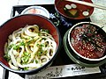 Ise udon, tekonezushi and suimono by yosshi.jpg