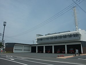 Ishinomaki district wide administrative affairs union fire fighting headquarters Ishinomaki Fire Station 1.jpg