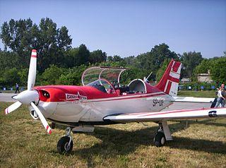 PZL M26 Iskierka PZL Mielec trainer and aerobatic aircraft