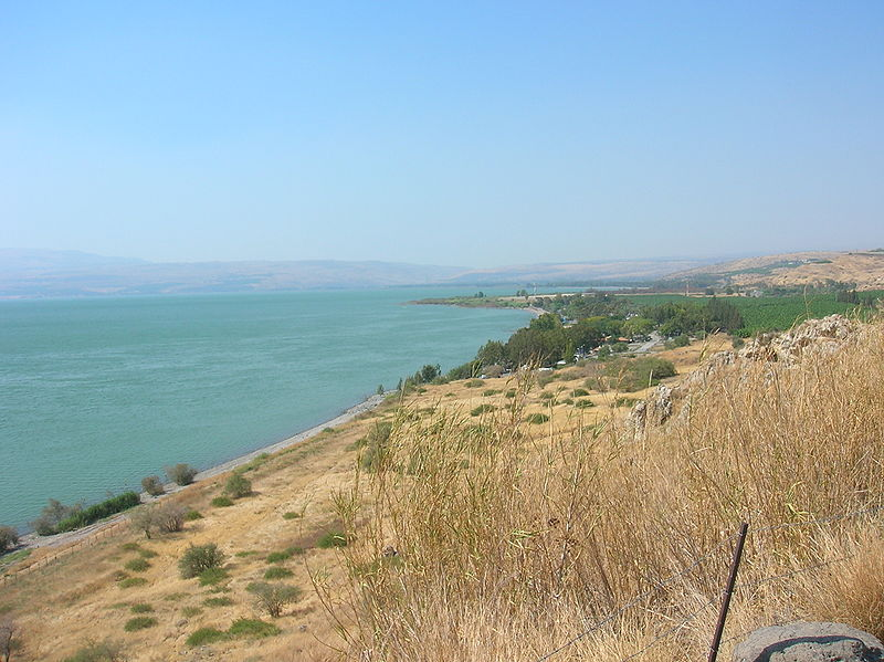 Buhaira Tabria or Lake Tiberias in Palestine All This Water will be Gone!