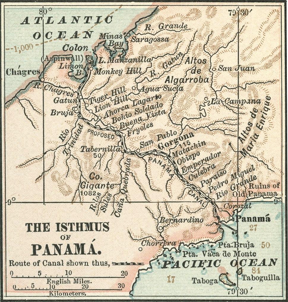 Isthmus of Panama 24188-050-1AC7A5DB