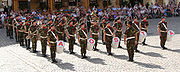 An Italian army military band
