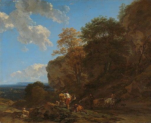Italiaans landschap Rijksmuseum SK-A-2317