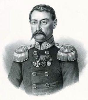Shalikashvili - Ivan Osipovich Shalikov, Maior