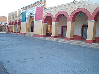 Juchitán District - Image: Ixtaltepec el palacio