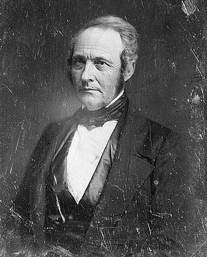 Jacob Collamer - Daguerreotype by Mathew Brady