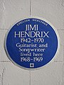 JIMI HENDRIX 1942-1970 Guitarist and Songwriter lived here 1968-1969 2.jpg