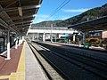 JR篠ノ井線 明科駅 Akashina station, JR Shinonoi line 2011.1.01 - panoramio.jpg