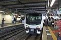 JR East HB-E300 Resort View Furusato at Matsumoto Station 20101002a.jpg