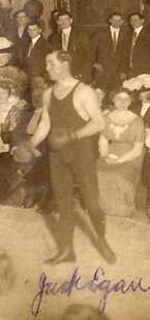 Jack Egan - Egan c. 1911