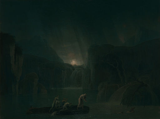 Jacob More - The Deluge - Google Art Project