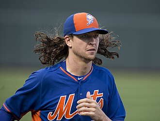 Jacob deGrom - deGrom in August 2015