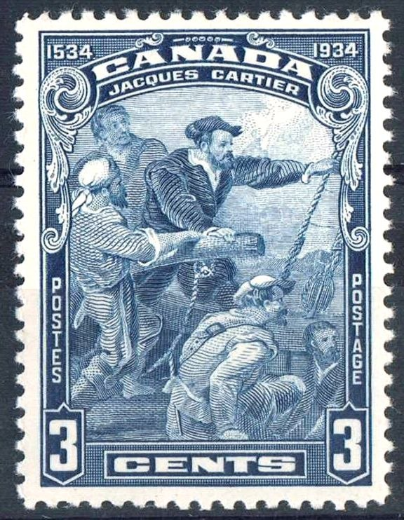 Jacques Cartier 1934 issue-3c