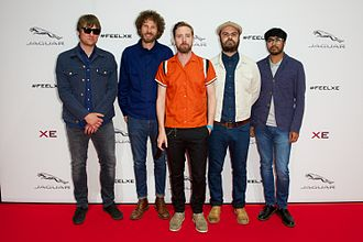Kaiser Chiefs - Kaiser Chiefs at the launch of the Jaguar XE in September 2014