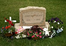 Who was james dean dating when he died