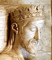 James I of Aragon (crop) - Monastery of Poblet - Catalonia 2014.jpg